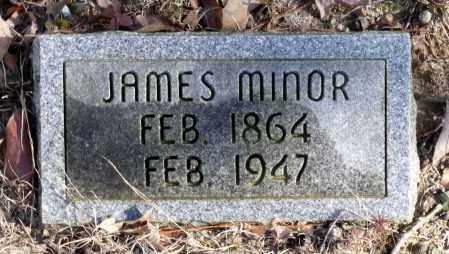 MINOR, JAMES - Caroline County, Virginia | JAMES MINOR - Virginia Gravestone Photos