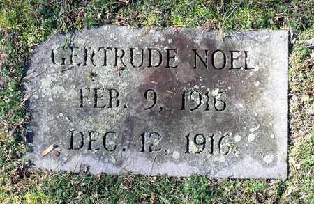 NOEL, GERTRUDE - Caroline County, Virginia | GERTRUDE NOEL - Virginia Gravestone Photos