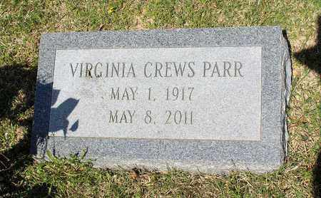 PARR, VIRGINIA - Caroline County, Virginia | VIRGINIA PARR - Virginia Gravestone Photos