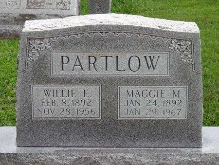 PARTLOW, WILLIE E. - Caroline County, Virginia   WILLIE E. PARTLOW - Virginia Gravestone Photos