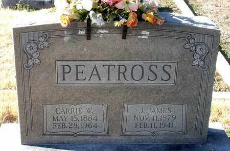 PEATROSS, CARRIE W. - Caroline County, Virginia | CARRIE W. PEATROSS - Virginia Gravestone Photos