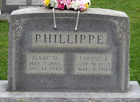 PHILLIPPE, LOUISE J. - Caroline County, Virginia | LOUISE J. PHILLIPPE - Virginia Gravestone Photos