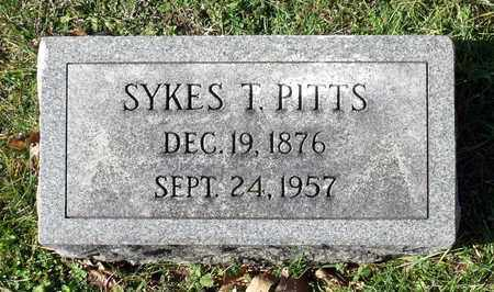 PITTS, SYKES T. - Caroline County, Virginia | SYKES T. PITTS - Virginia Gravestone Photos