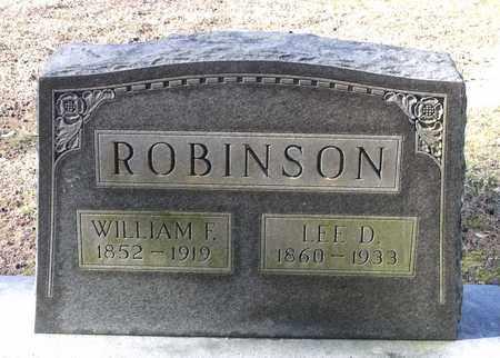 ROBINSON, WILLIAM F. - Caroline County, Virginia | WILLIAM F. ROBINSON - Virginia Gravestone Photos