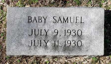 SAMUE, BABY - Caroline County, Virginia | BABY SAMUE - Virginia Gravestone Photos