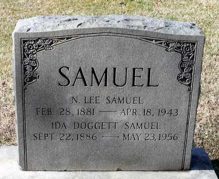 DOGGETT SAMUEL, IDA - Caroline County, Virginia | IDA DOGGETT SAMUEL - Virginia Gravestone Photos