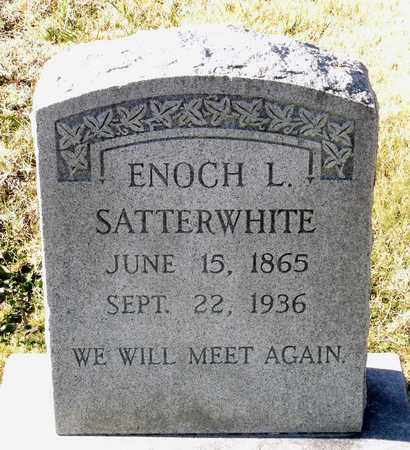 SATTERWHITE, ENOCH L. - Caroline County, Virginia | ENOCH L. SATTERWHITE - Virginia Gravestone Photos