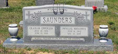 SAUNDERS, GRAHAM EPPERSON - Caroline County, Virginia | GRAHAM EPPERSON SAUNDERS - Virginia Gravestone Photos