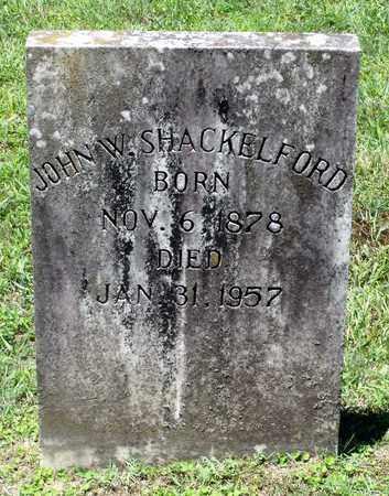 SHACKELFORD, JOHN W. - Caroline County, Virginia   JOHN W. SHACKELFORD - Virginia Gravestone Photos
