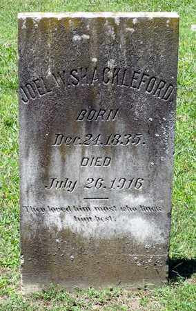 SHACKELFORD, JOEL W. - Caroline County, Virginia | JOEL W. SHACKELFORD - Virginia Gravestone Photos