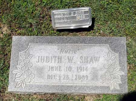 SHAW, JUDITH W. - Caroline County, Virginia | JUDITH W. SHAW - Virginia Gravestone Photos