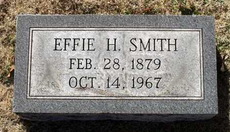 SMITH, EFFIE H. - Caroline County, Virginia | EFFIE H. SMITH - Virginia Gravestone Photos
