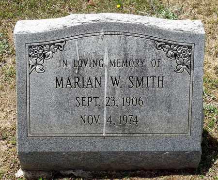 SMITH, MARIAN W. - Caroline County, Virginia | MARIAN W. SMITH - Virginia Gravestone Photos