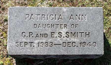 SMITH, PATRICIA ANN - Caroline County, Virginia   PATRICIA ANN SMITH - Virginia Gravestone Photos