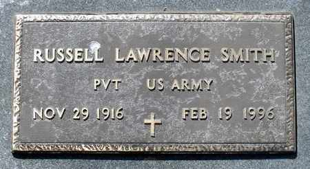 SMITH, RUSSELL LAWRENCE - Caroline County, Virginia | RUSSELL LAWRENCE SMITH - Virginia Gravestone Photos