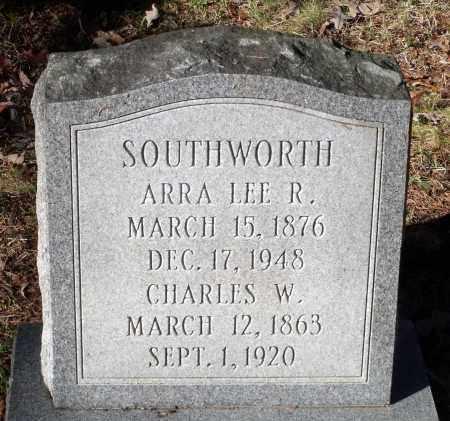 SOUTHWORTH, CHARLES W. - Caroline County, Virginia | CHARLES W. SOUTHWORTH - Virginia Gravestone Photos
