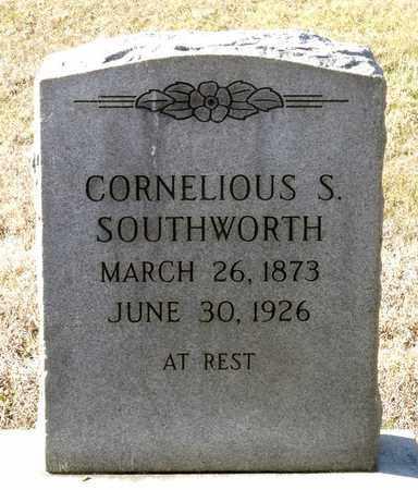 SOUTHWORTH, CORNELIOUS S. - Caroline County, Virginia   CORNELIOUS S. SOUTHWORTH - Virginia Gravestone Photos