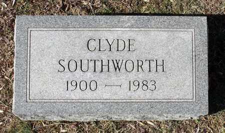 SOUTHWORTH, CLYDE - Caroline County, Virginia | CLYDE SOUTHWORTH - Virginia Gravestone Photos