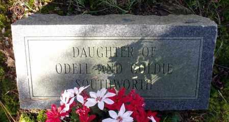 SOUTHWORTH, DAUGHTER - Caroline County, Virginia   DAUGHTER SOUTHWORTH - Virginia Gravestone Photos