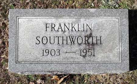 SOUTHWORTH, FRANKLIN - Caroline County, Virginia | FRANKLIN SOUTHWORTH - Virginia Gravestone Photos