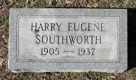 SOUTHWORTH, HARRY EUGENE - Caroline County, Virginia | HARRY EUGENE SOUTHWORTH - Virginia Gravestone Photos