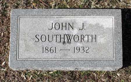 SOUTHWORTH, JOHN J. - Caroline County, Virginia   JOHN J. SOUTHWORTH - Virginia Gravestone Photos
