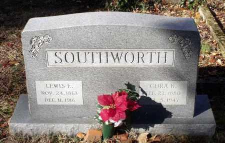 SOUTHWORTH, LEWIS E. - Caroline County, Virginia   LEWIS E. SOUTHWORTH - Virginia Gravestone Photos