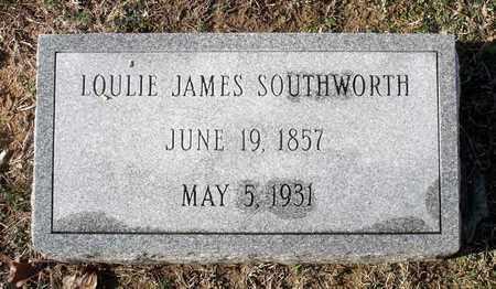 SOUTHWORTH, LOULIE JAMES - Caroline County, Virginia | LOULIE JAMES SOUTHWORTH - Virginia Gravestone Photos