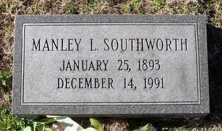 SOUTHWORTH, MANLEY L. - Caroline County, Virginia   MANLEY L. SOUTHWORTH - Virginia Gravestone Photos