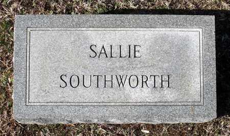 SOUTHWORTH, SALLIE - Caroline County, Virginia | SALLIE SOUTHWORTH - Virginia Gravestone Photos