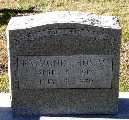 THOMAS, RAYMOND - Caroline County, Virginia   RAYMOND THOMAS - Virginia Gravestone Photos
