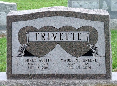 TRIVETTE, MADELENE - Caroline County, Virginia | MADELENE TRIVETTE - Virginia Gravestone Photos