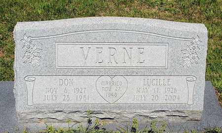 VERNE, DON - Caroline County, Virginia   DON VERNE - Virginia Gravestone Photos