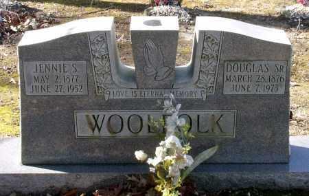 WOOLFOLK, DOUGLAS, SR. - Caroline County, Virginia | DOUGLAS, SR. WOOLFOLK - Virginia Gravestone Photos
