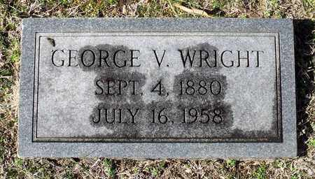 WRIGHT, GEORGE V. - Caroline County, Virginia   GEORGE V. WRIGHT - Virginia Gravestone Photos