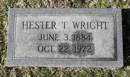 WRIGHT, HESTER T. - Caroline County, Virginia | HESTER T. WRIGHT - Virginia Gravestone Photos