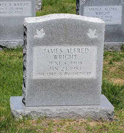 WRIGHT, JAMES ALFRED - Caroline County, Virginia | JAMES ALFRED WRIGHT - Virginia Gravestone Photos