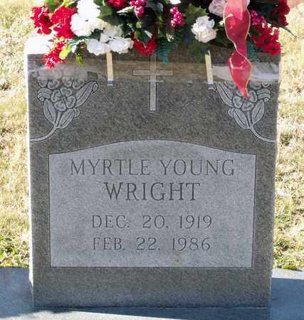 WRIGHT, MYRTLE - Caroline County, Virginia   MYRTLE WRIGHT - Virginia Gravestone Photos
