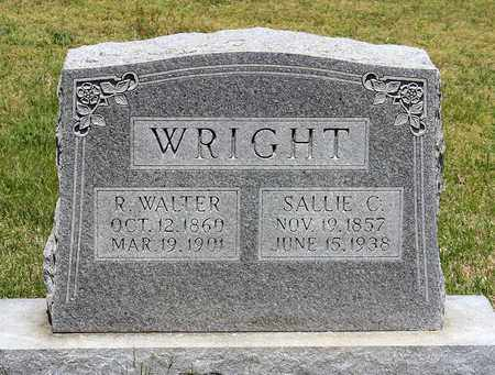 WRIGHT, SALLIE C. - Caroline County, Virginia | SALLIE C. WRIGHT - Virginia Gravestone Photos