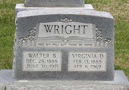 WRIGHT, VIRGINIA D. - Caroline County, Virginia | VIRGINIA D. WRIGHT - Virginia Gravestone Photos