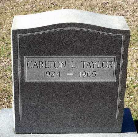 TAYLOR, CARLTON L. - Caroline County, Virginia   CARLTON L. TAYLOR - Virginia Gravestone Photos
