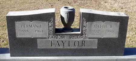 TAYLOR, HERMAN L. - Caroline County, Virginia | HERMAN L. TAYLOR - Virginia Gravestone Photos