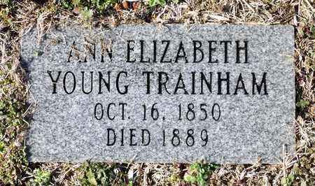 TRAINHAM, ANN ELIZABETH - Caroline County, Virginia | ANN ELIZABETH TRAINHAM - Virginia Gravestone Photos