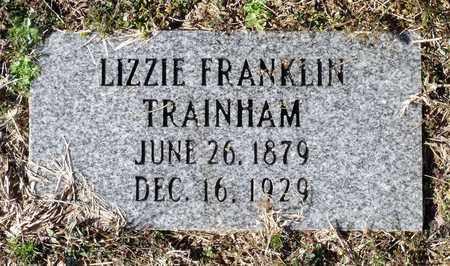 TRAINHAM, LIZZIE - Caroline County, Virginia   LIZZIE TRAINHAM - Virginia Gravestone Photos