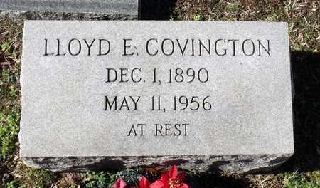 COVINGTON, LLOYD E. - Caroline County, Virginia | LLOYD E. COVINGTON - Virginia Gravestone Photos