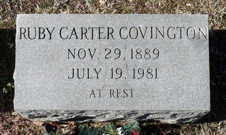 COVINGTON, RUBY - Caroline County, Virginia   RUBY COVINGTON - Virginia Gravestone Photos