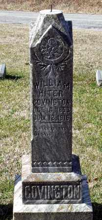 COVINGTON, WILLIAM HITER - Caroline County, Virginia | WILLIAM HITER COVINGTON - Virginia Gravestone Photos