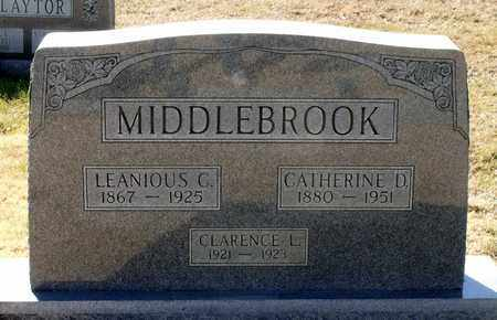MIDDLEBROOK, LEANIOUS C. - Caroline County, Virginia | LEANIOUS C. MIDDLEBROOK - Virginia Gravestone Photos
