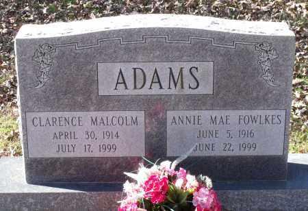 FOWLKES ADAMS, ANNIE MAE - Charles City County, Virginia | ANNIE MAE FOWLKES ADAMS - Virginia Gravestone Photos