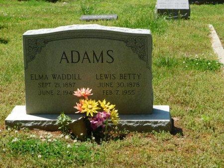 WADDILL ADAMS, ELMA - Charles City County, Virginia   ELMA WADDILL ADAMS - Virginia Gravestone Photos